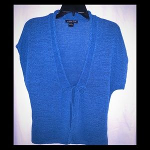 Light weight blue tie vest